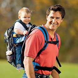 Durable, economical baby backpack - Trail Tech Framed Baby Carrier